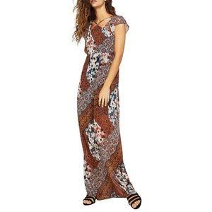 BCBGeneration floral printed maxi dress (XS)